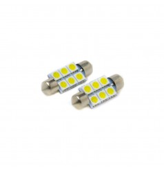 Festoon 36mm 6-SMD 5050 LED Bulb