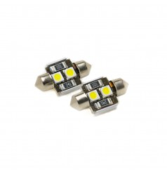 Festoon 31mm 2-SMD 5050 Canbus LED Bulb