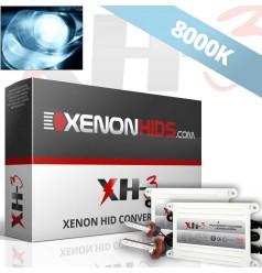 8000K Full Xenon HID Conversion Kit