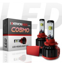 Dual Beam - Hi/Lo: H3 LED Headlights - Cosmo Series