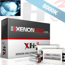 8000K Full Xenon HID Conversion Kit