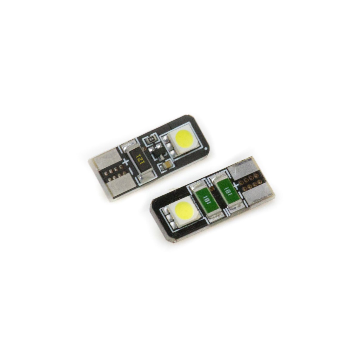 T10 2 smd 5050 canbus led bulb Bulbs led