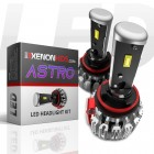 Dual Beam - Hi/Lo: H9 LED Headlights - Astro Series