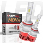 Low Beam: H11 LED Headlights - Nova Series