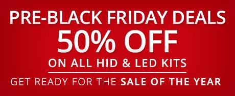 50% OFF Pre-Black Friday Deals